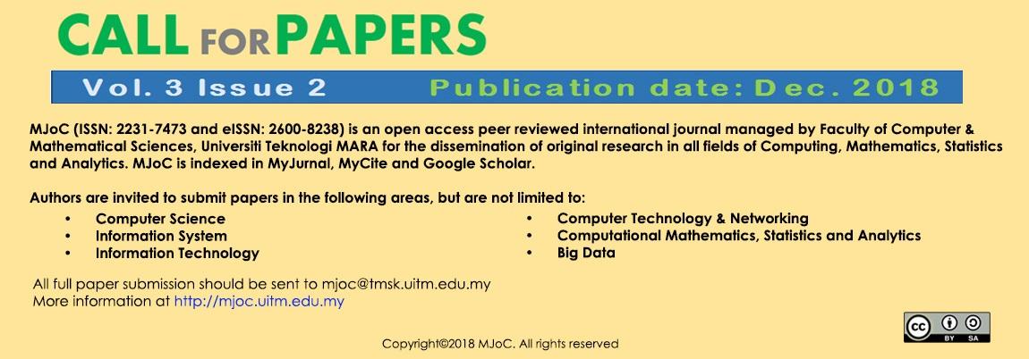 Home - Malaysian Journal of Computing (MJoC)